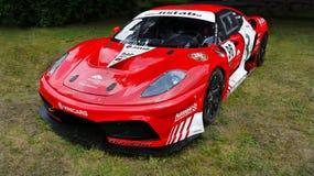 Ferrari motor Racing, tävlings- bil för bil Royaltyfri Bild