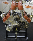 Ferrari motorkvarter arkivfoton