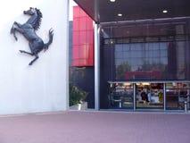 Ferrari-museum royalty-vrije stock foto's