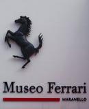 Ferrari-Museum Lizenzfreies Stockbild