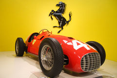 Ferrari museum Stock Photo
