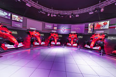 Ferrari Museum Hall Royalty Free Stock Photo