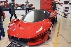 Ferrari, museum, Italy,. MARANELLO, ITALY - OCTOBER, 12 2013: Ferrari Sport Car into the Ferrari Museum Stock Image