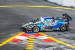Ferrari nel Gran Premio della città Immagini Stock