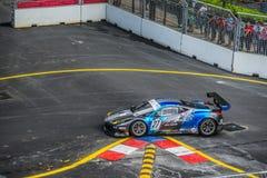 Ferrari nel Gran Premio della città Fotografia Stock Libera da Diritti