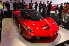 Ferrari. A new super car by Ferrari Stock Photography