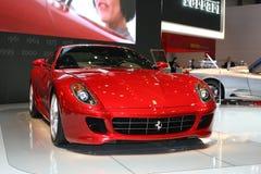 Ferrari no motorshow de Genebra Fotos de Stock
