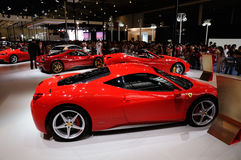 Ferrari op CDMS 2012 Royalty-vrije Stock Foto