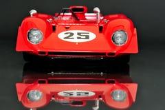 Ferrari 312P Spyder racing car - front view Stock Image