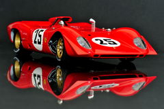 Ferrari 312P Spyder racing car Royalty Free Stock Photo