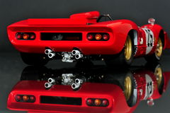 Ferrari 312P Spyder - rear view stock image