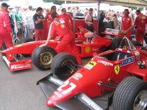 Ferrari paddock. Royaltyfria Bilder