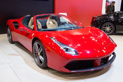 2016 Ferrari 488 pająk Fotografia Royalty Free