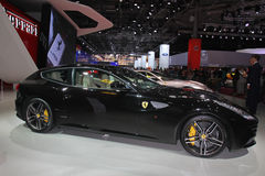 Ferrari at Paris Motor Show 2014 Royalty Free Stock Image