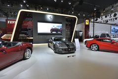 Ferrari paviljong Royaltyfri Fotografi