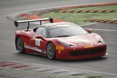 Ferrari 458 Pellin för tävlings- lag utmaning Evo 2016 Royaltyfria Bilder