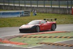 Ferrari 458 Pellin för tävlings- lag utmaning Evo 2016 Arkivfoton