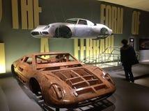 Ferrari: Pod skórą, projekta muzeum, Londyn Zdjęcia Stock