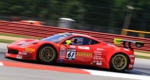 Ferrari pro-springa Arkivbilder