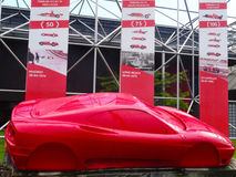 Ferrari prototype Stock Images