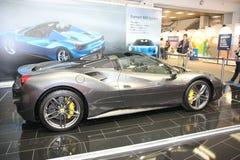 Ferrari przy Belgrade car show Zdjęcie Royalty Free