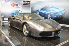 Ferrari przy Belgrade car show Obraz Stock