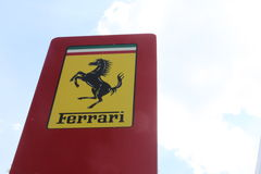Ferrari Pylon Royalty Free Stock Images