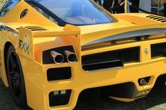 Ferrari racer detail Royalty Free Stock Photography