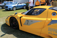 Ferrari racer Royalty Free Stock Photos