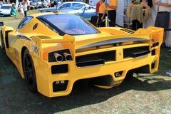 Ferrari racer rear Stock Image
