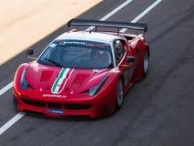 Ferrari 458 racerbil Royaltyfri Bild