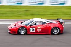 Ferrari 458 racerbil Royaltyfri Fotografi
