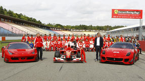 Ferrari Racing Days at Hockenheim Stock Photo