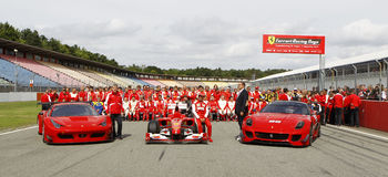 Ferrari Racing Days Stock Photo