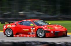 Ferrari racing Royalty Free Stock Photo