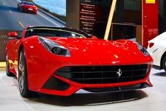 Ferrari rojo imagen de archivo libre de regalías
