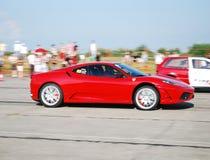 Ferrari rouge Photos stock
