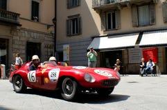 Ferrari 250 RT in Mille Miglia 2016 Royalty-vrije Stock Foto's