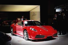 Ferrari at salon auto Royalty Free Stock Photos