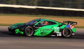 Ferrari samochód wyścigowy Zdjęcia Royalty Free