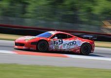 Ferrari 458 samochód wyścigowy Obraz Royalty Free