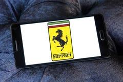 Ferrari samochodu logo Obraz Stock