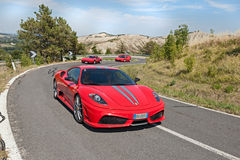 Ferrari 430 Scuderia Stock Photos