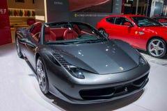 Ferrari Series car Chongqing Auto Show Stock Photos