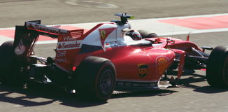 Ferrari SF16-H Grand prix F1 2016 Photographie stock libre de droits