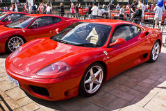 Ferrari Show Day - 360 Modena Royalty Free Stock Image