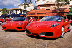 Ferrari Show Day - 360 Modena & F430 Spider Stock Image