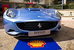 Ferrari Show Day - Ferrari California - Grille Royalty Free Stock Image