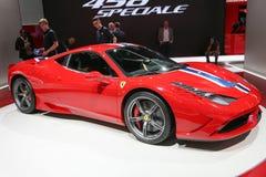 Ferrari 458 Speciale Stockfotos