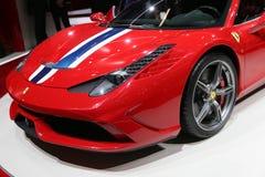 Ferrari 458 Speciale Fotografia Stock Libera da Diritti